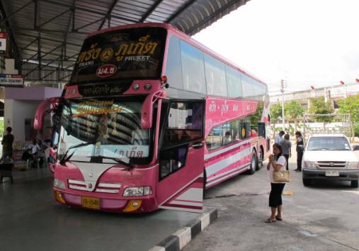 как добраться до пхукета на автобусе