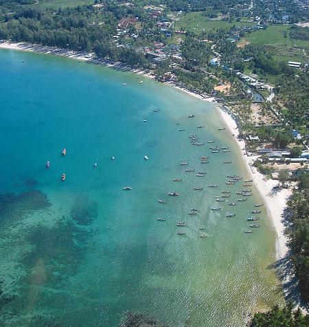 фото пляжа банг тао