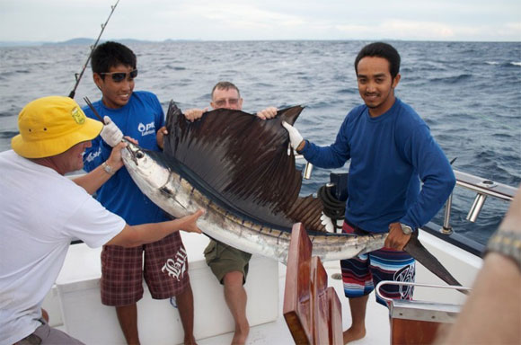 спортивная рыбалка на Пхукете
