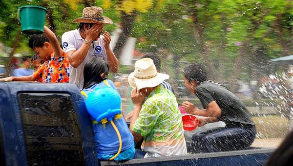 Сонгкран 2012 на Пхукете