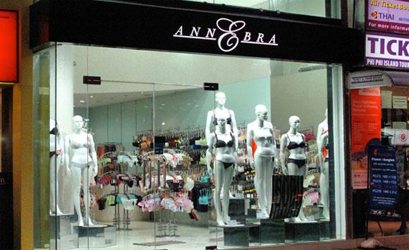 Магазин Anne Bra на Пхукете