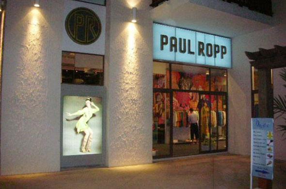 Магазин одежды Paul Ropp