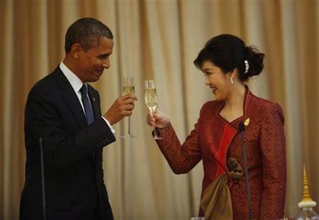 Барак Обама посетил Таиланд