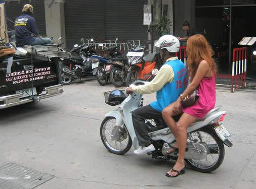 мототакси на Пхукете