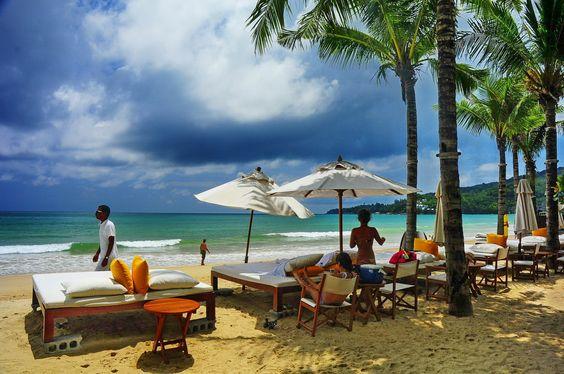 таиланд пляж камала