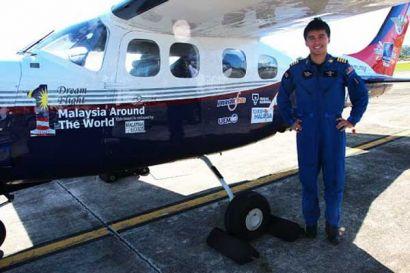 Самый молодой пилот завершил кругосветку