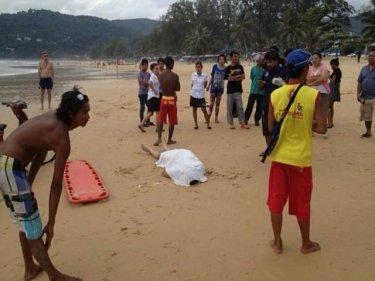 У пляжа Карон утонул турист из России