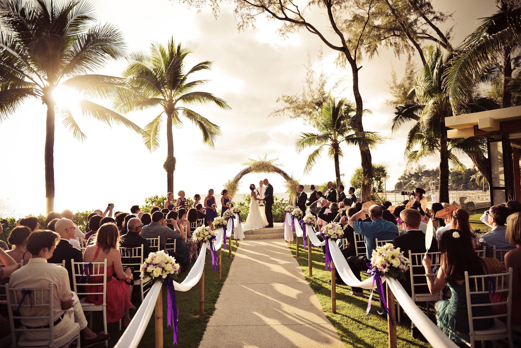 пляжные свадьбы на Пхукете