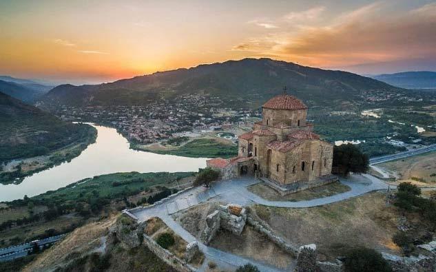 Популярные курорты Грузии